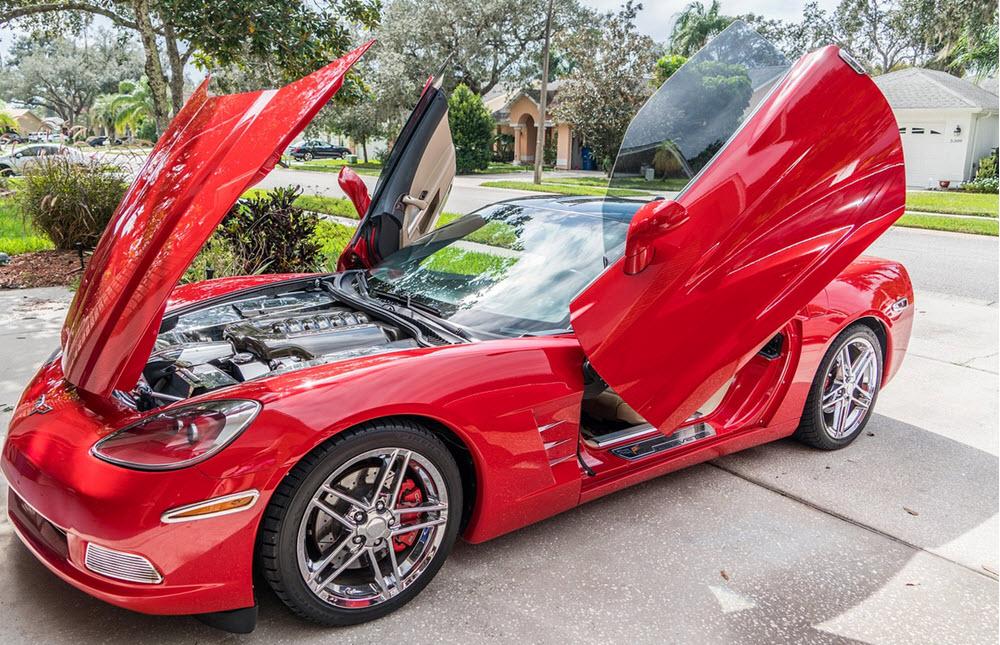 corvette modern